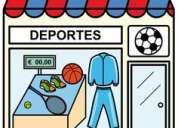 Traspaso negocio uniformes deportivos -oportunidad-