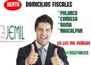 Oficinas virtuales 5 sucursales 11 direcciones fiscales