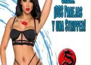 Sábado 5 solo parejas: ¡dos parejas y una stripper!