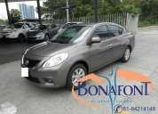 Bonafont vende sus unidades nissan versa 2014