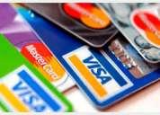 Tramito dinero en efectivo y tarjetas de banco sin buro