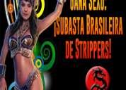 Miércoles 9 en csw: ¡subasta brasileira de strippers!