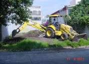 Demoliciones y maquinaria