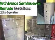 Archiveros metalicos seminuevos y usados oficina