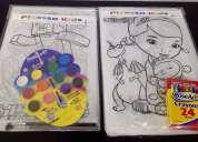 Venta de caballetes infantiles (triples) figuras de cerámica, madera, plastilina, kit, peyon, etc.