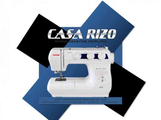 Máquinas de coser Janome mod. 2222 *Envío gratis a todo México