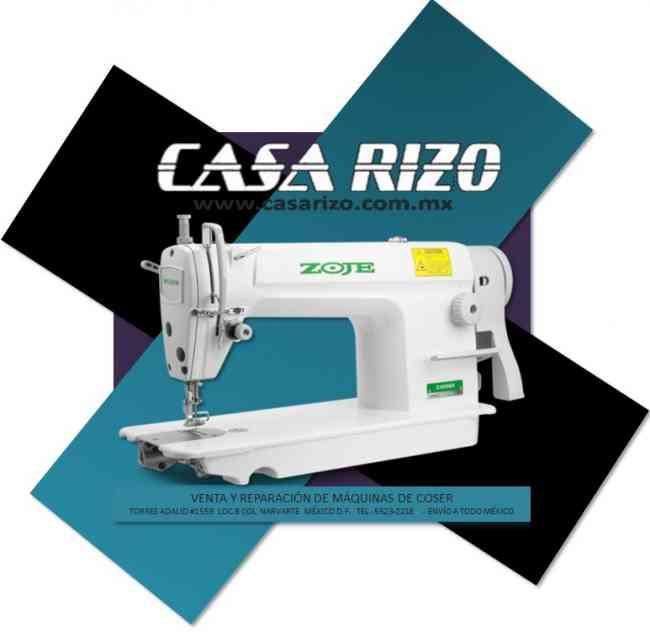 Máquinas de coser y bordar *Venta y reparación