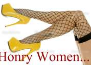 Horny women . tallas 3, 5 y 7