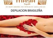 Depilaciones con cera ,piernas,brasileÑo,pecho.espalda