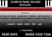 Clases de piano o teclado personalizadas para jovenes y adultos