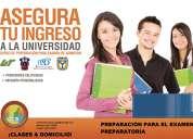 Preparación para el examen de admisión a universidad y preparatoria