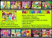 Payasos y personajes para fiestas infantiles en chimalhuacan