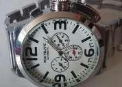 Reloj automático montblanc clon
