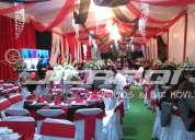 Renta de carpas, banquetes y servicios para eventos