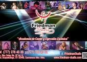 Friedman studio academia de canto, desenvolvimiento escénico interpretativo y desarrollo humano