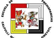 Clases de danza azteca en el telpochcalli
