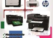 Reparacion de impresoras hp en monterrey