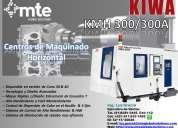 Kiwa kmh-300/300a, centro de maquinado horizontal