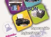 Reparación a impresoras y plotters epson en monterrey