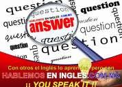 Ingles clases a domicilio o su empresa