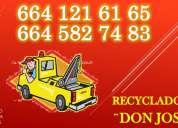 Don jose recicla tu auto al mejor precio