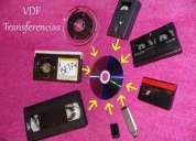 Conversion de cintas: vhs, beta, mini dv, 8mm, super 8, video 8, hi 8, vhs-c a dvd de video digital