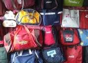 Fabrica  o taller de mochilas y maletas que requieran un vendedor