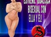 Viernes 15 en csw: ¡odalisca bisexual con ella y Él!
