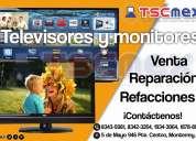 Reparacion televisores, monitores, equipos de computo monterrey