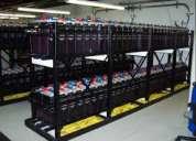 Montacargas y baterias industriales empresa olram