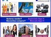 Espacios publicitarios en pagina web