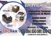 Reparacion miniprinter, impresoras de etiquetas, de tickets y tarjetas