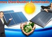 Somos distribuidores de paneles y calentadores solares