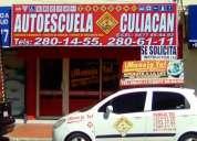 Aprende a conducir en autoescuela culiacan