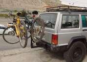 Vendo rack porta bici