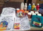Caballetes infantiles, cerámica, madera, mega blocks, juguetes, kit, etc. renta y venta.