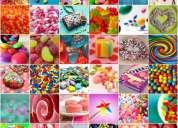 Desde casa embolsa caramelos mínimo $ 3,000 semanales