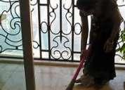 Trabajadora domestica a tu servicio