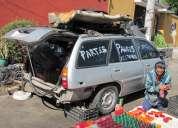 Escort wagon en partes