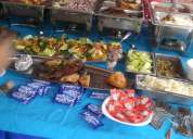 Buffet de mariscos. d.f.servicio a domicilio.