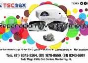 Proyectores- reparación y mantenimiento