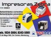 Reparación de miniprinter, impresoras termicas zebra