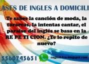 Clases  particulares de inglés a domicilio 83