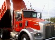Excelente kenworth t800 volteo 14m3 motor serie 60 450 hp -2001