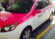 Chevrolet aveo taxi-pagalo con tus cuentas diarias -16 papeles al día