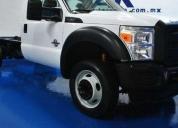 Vendo f - 450 xl chasis cabina blanco  -2012