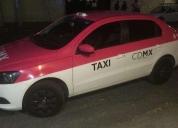Taxi gol sedan cl con placas