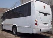 Autobus seminuevo listo para trabajar
