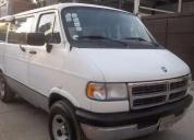 Vendo camioneta ram  wagon capacidad para 8 pasajeros - 97