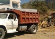 Camión de volteo dodge -82 en buenas condiciones